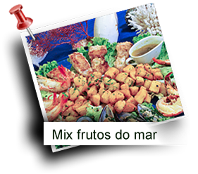 Mix frutos do mar